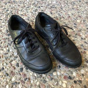 Rockport DMX Black Leather Shoes